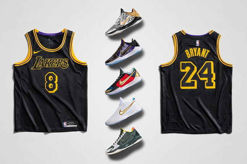 nike basketball kobe bryant protro 5 mamba week los angeles lakers jersey big stage 5x champ undefeated what if pack eybl official release dates info photos price store list buying guide