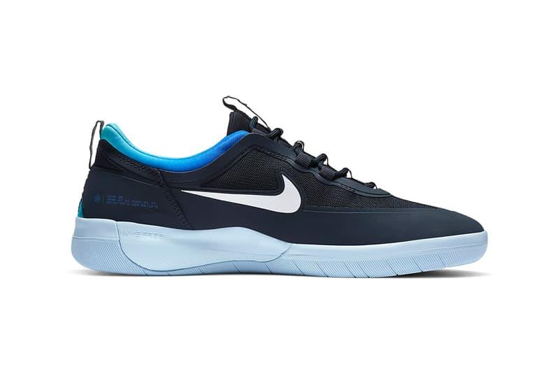 """Nike SB Bruin React T Nike SB Nyjah Free 2 """"Dark Obsidian/Hyper Jade"""" Colorways CU9220-400 CV5980-400 Skateboarding Sneakers Footwear Swoosh Drop Date Release Information"""