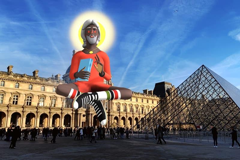 nina chanel abney imaginary friend augmented reality artwork acute art app