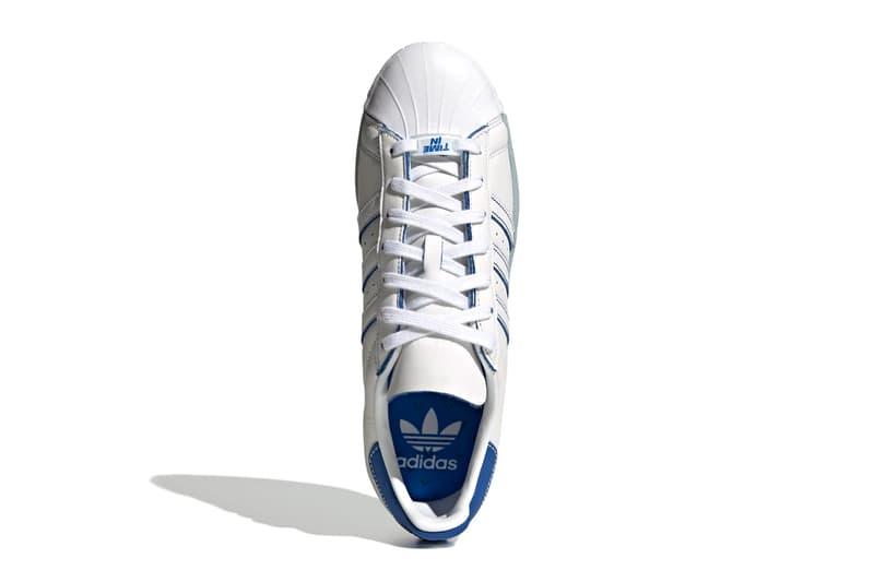 ninja gamer streamer adidas originals superstar cloud white chalk white blue FX2784 official release date info photos price store list buying guide