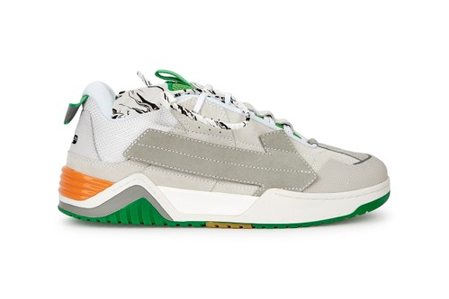 Off-White™ Enlivens Arrows Sneaker With Supple Gray Suede Uppers