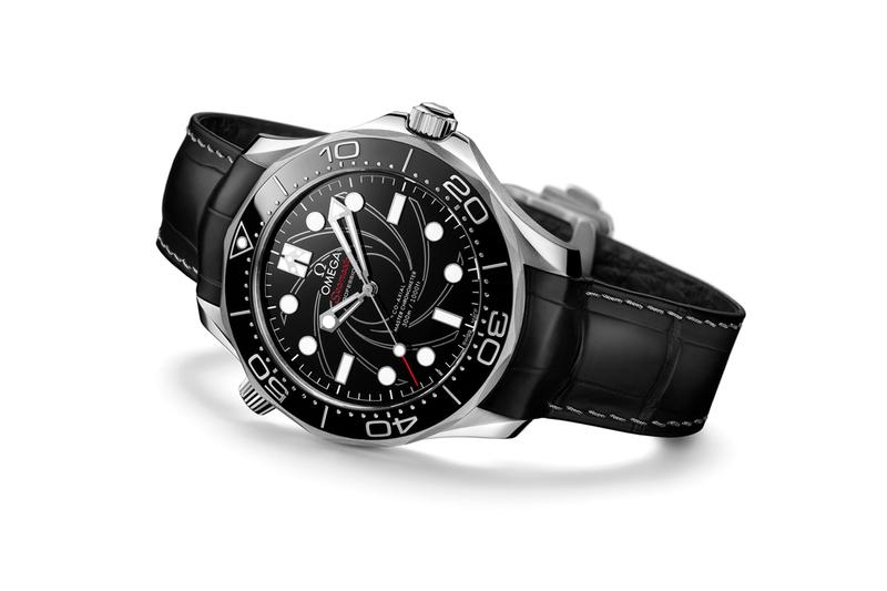 omega seamaster diver 300m james bond 007 no time to die numbered edition platinum gold