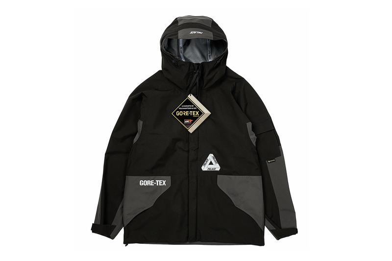 Palace Fall 2020 GORE-TEX Jacket Pants Release Info Date Buy Price Black White Camo