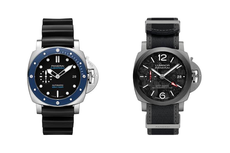 panerai watches italian watchmaker submersible azzurro luminor luna rossa gmt sailing