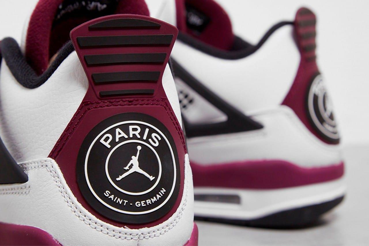 Paris Saint-Germain x Air Jordan 4