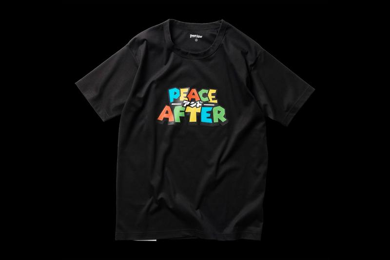 PEACE AND AFTER Retro Game Parody T-Shirts Release Super Mario Final Fight 2 Info Buy Price