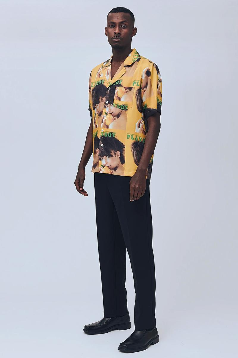 Playboy Soulland Summer 2020 Capsule menswear streetwear ss20 shirts graphics tees button ups hawaiian shirts prints magazine vintage