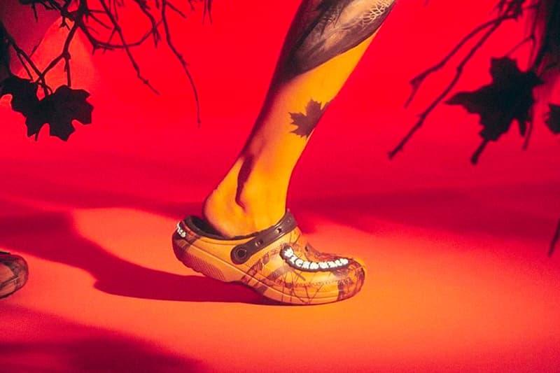 PLEASURES Crocs Mossy Oak Teaser Release Date Info Alex James