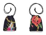 PORTER and WACKO MARIA Emblazon Vibrant Graphics on Shoulder Pouch
