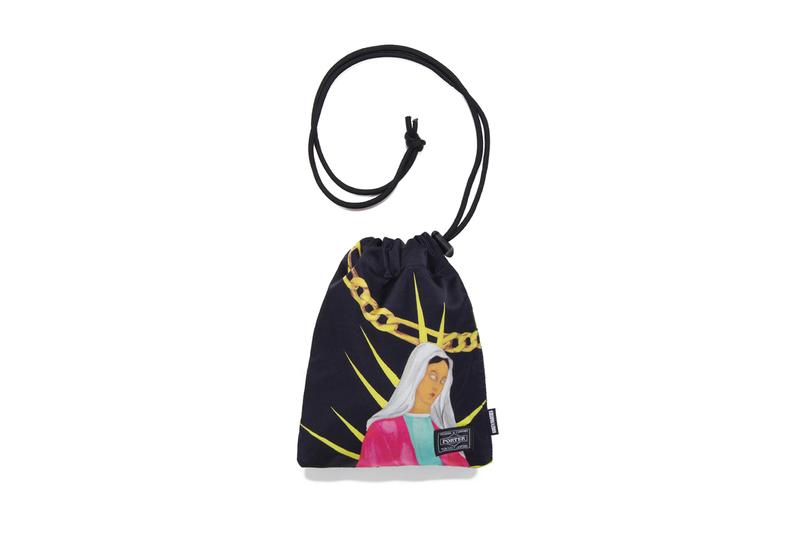 WACKO MARIA PORTER Shoulder Pouch menswear streetwear spring summer 2020 collection accessories bags ss20