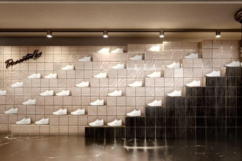 presentedby le bon marche boutique opening paris France release sneakers streetwear apparel off white supreme