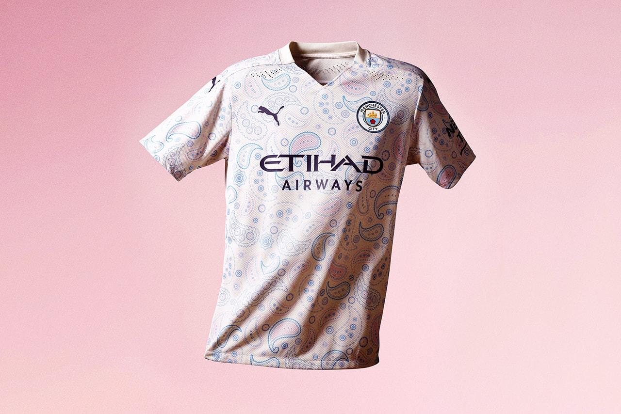 Manchester City 2020 21 Paisley Third Kit By Puma Hypebeast