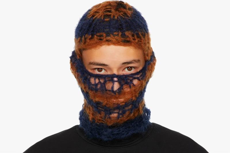 Raf Simons Knitted Mohair Balaclavas menswear streetwear spring summer 2020 collection ss20 accessories