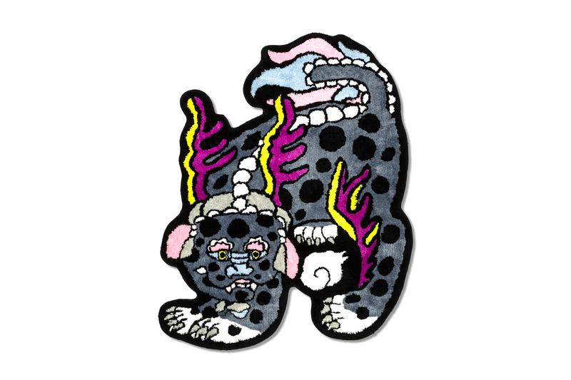 RAW EMOTIONS Kirin Rug Release Info Buy Price HBX Black Pink White