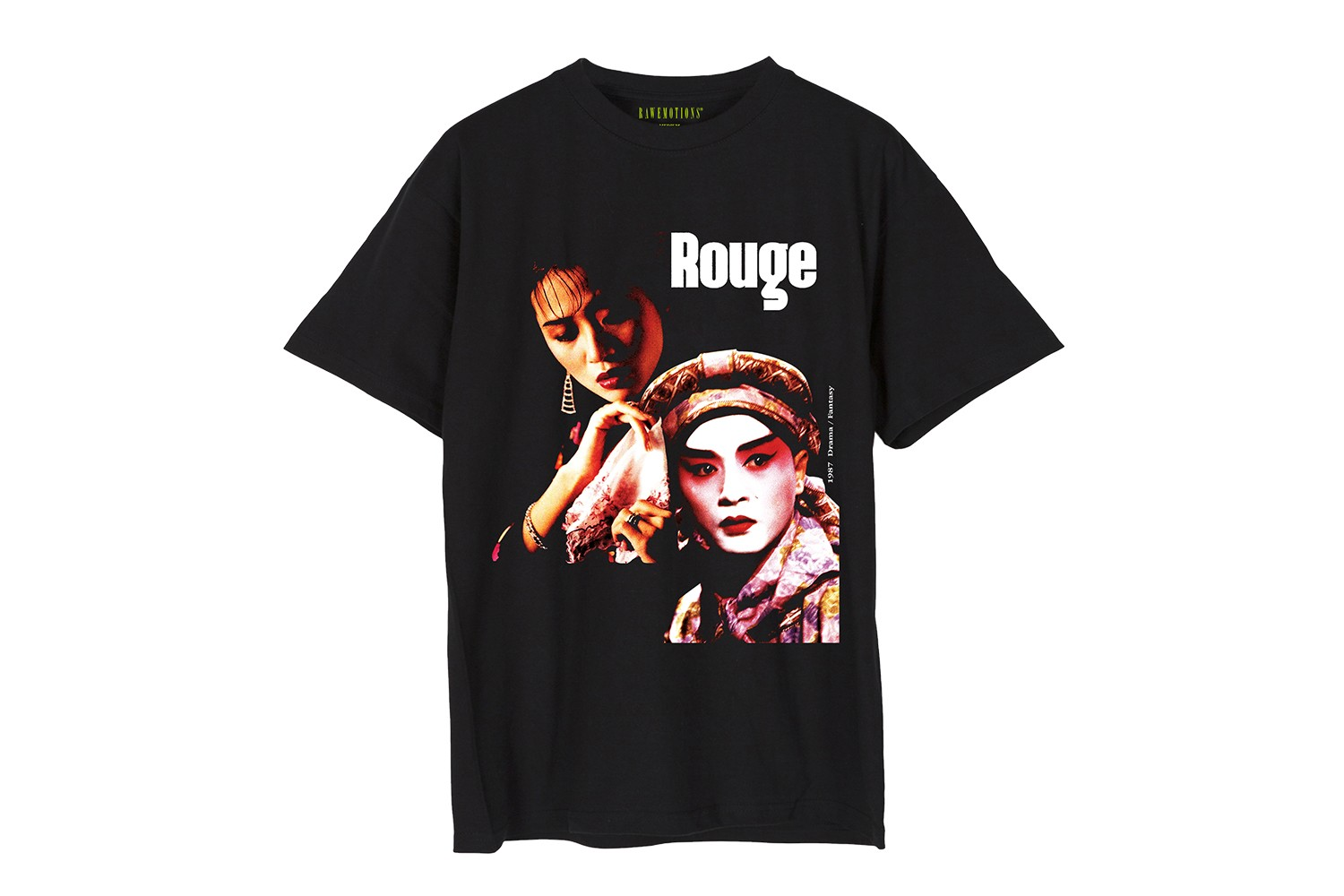 RAW EMOTIONS Spring Summer 2020 Collection Release T shirt Hong Kong Movie