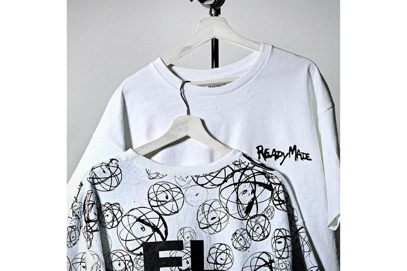 Yuta Hosokawa READYMADE Futura Laboratories T Shirt Pack Info Futura shirts NTWRK Osaka