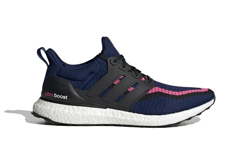 real madrid football soccer club team adidas running ultraboost dna dark blue core black spring pink FZ3623 official release date info photos price store list buying guide