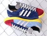 RECOUTURE x mita x Adidas Consortium Campus 80s Is Swathed In Colorful Suede