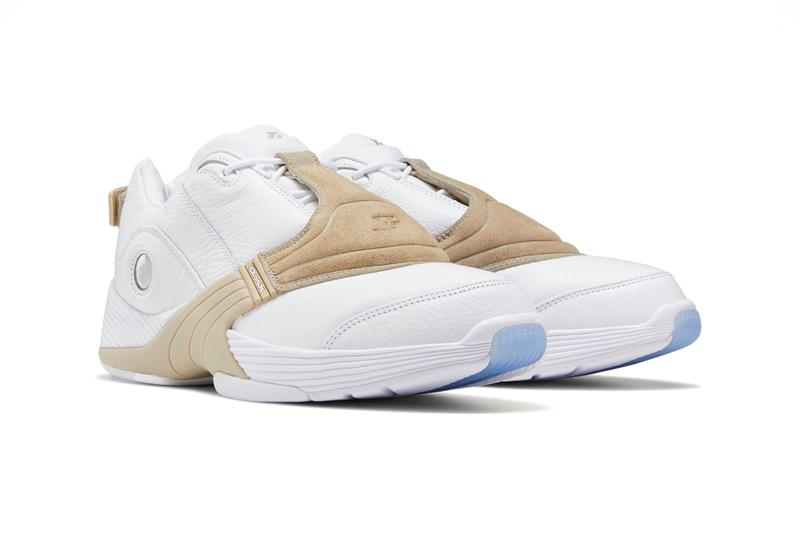 Reebok Answer V Low White Oatmeal EF7603 release Allen Iverson shoes sneakers trainers runners menswear streetwear spring summer 2020 collection