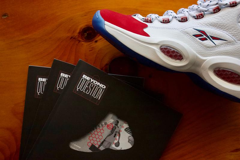 reebok beyond question zine magazine book 25 years official release date info photos price store list buying guide