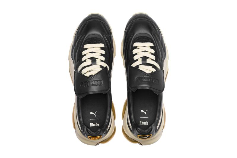 rhude puma cell king 371389 01 black white tan grey Rhuigi Villasenior official release date info photos price store list buying guide