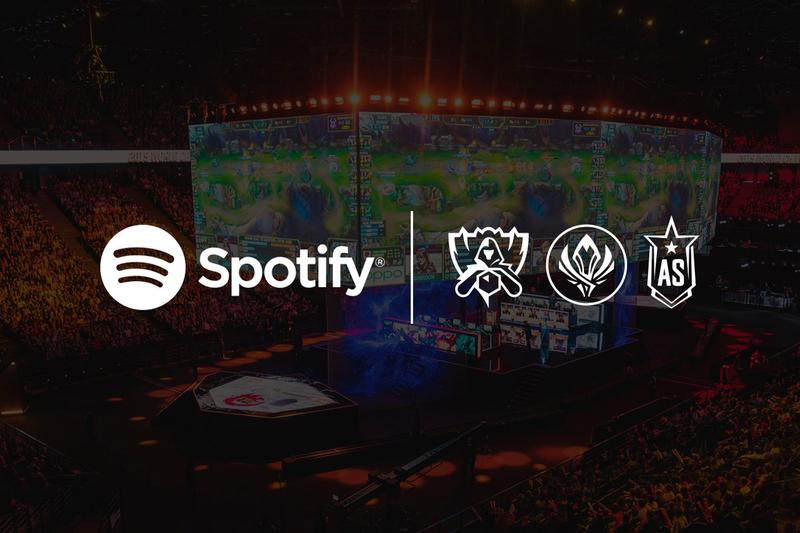 Riot Games League of Legends Spotify Official Audio Streaming Partner Announcement Info Esports