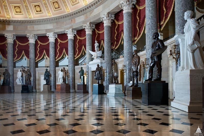 Robert E. Lee Statue U.S. Capitol to Museum National Statuary Hall Washington D.C. Richmond Confederate general racist