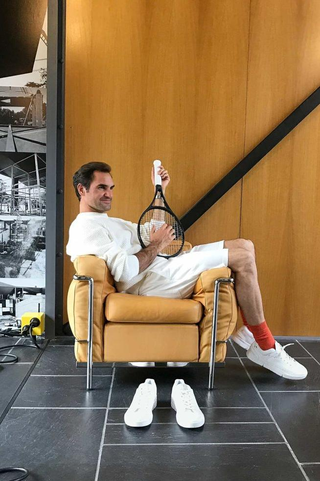 roger federer on running the centre court signature shoe tennis white gold official release date info photos price store list buying guide
