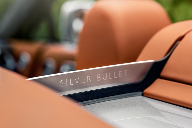 Rolls-Royce Dawn Silver Bullet Release Information First Look British-German High Luxury Automotive Drop Head Coupe Convertible Driving Special Limited Edition V12 Power Engine
