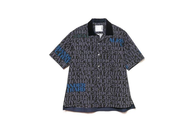 Alexander Girard Sacai Collaboration Release capsule 2020 collection fall winter 2020 fw20 menswear streetwear artist