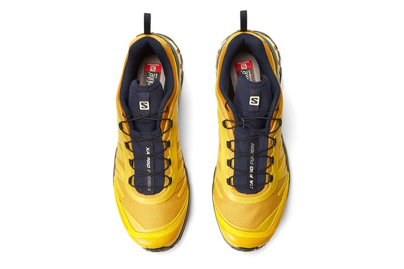 Salomon Advanced XA Pro Fusion Yellow menswear streetwear shoes sneakers footwear kicks trainers runners spring summer 2020 collection ss20