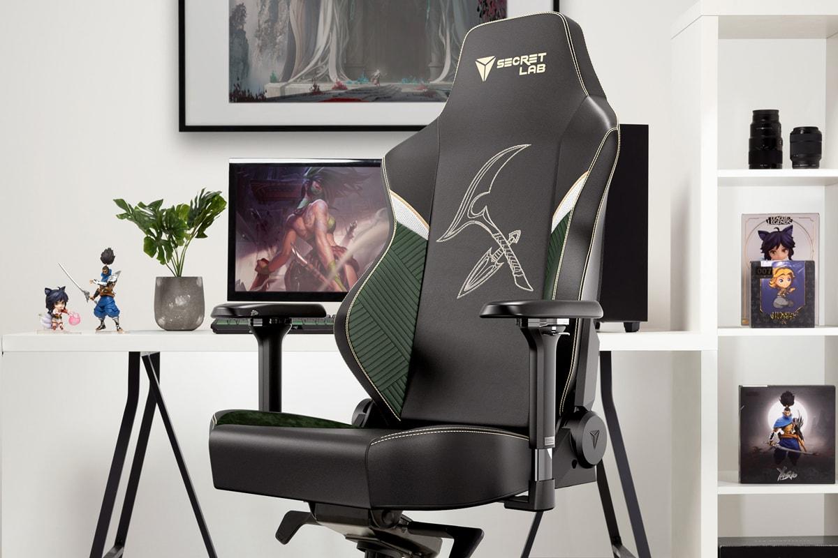 Secretlab League of Legends Gaming Chair Collection Esports Riot Games Yasuo Ahri Akali K-Pop K/DA Omega Titan