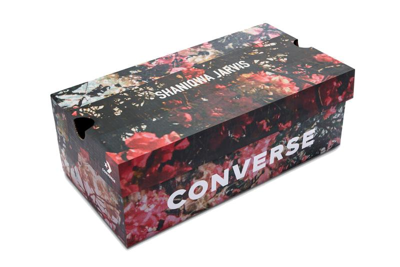 shaniqwa jarvis converse chuck taylor cx hi high 169071C teaberry white black floral print official release date info photos price store list buying guide