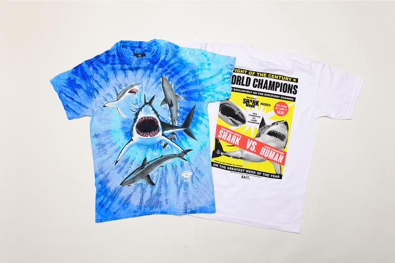 Shark Week BAIT Discovery Channel Capsule release info great white shark carcharodon carcharias