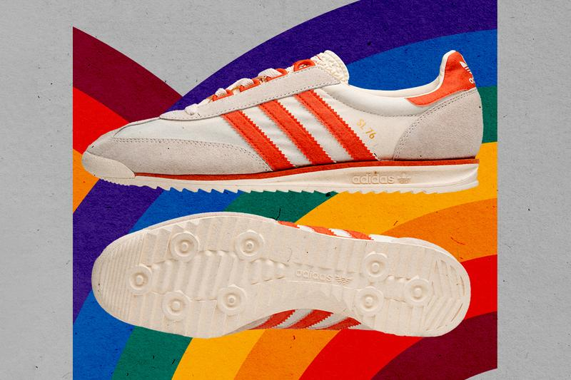 size? adidas originals SL76 montreal pack olympics release information white ecru amber orange pink gold blue buy cop purchase