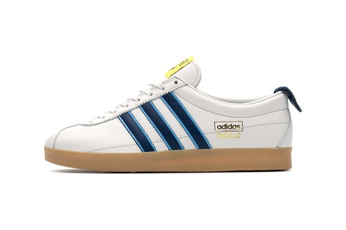 "size? Honors Paul Gascoigne With adidas Originals Gazelle Vintage ""Dentist Chair"""