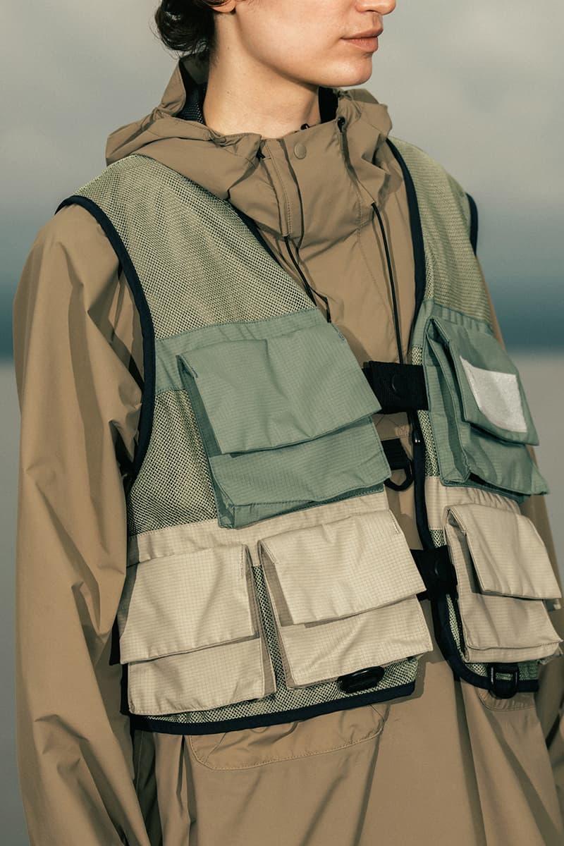 Snow Peak New Balance Niobium 2020 Capsule TDS Niobium Concept 1 menswear streetwear ss20 overalls fisherman vests t shirts logo TOKYO DESIGN STUDIO