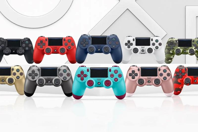 Sony PlayStation 4 Themed Dualshock 4 Controllers Berry Blue Red Camouflage Green Camouflage Magma Red Midnight Blue,Electric Purple Rose Gold Steel Black