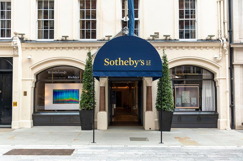 sotheby's london hong kong new york online virtual sales 10 percent covid 19 coronavirus lockdown stay in place measures details performance 2020