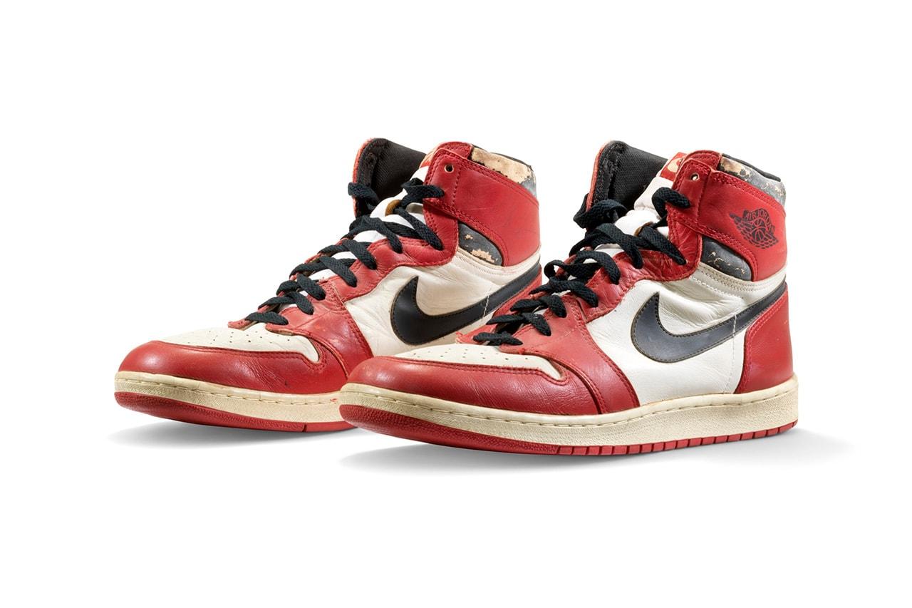 Se subastan varias Air Jordan con las que Michael jugó por  931.875 dólares. 1