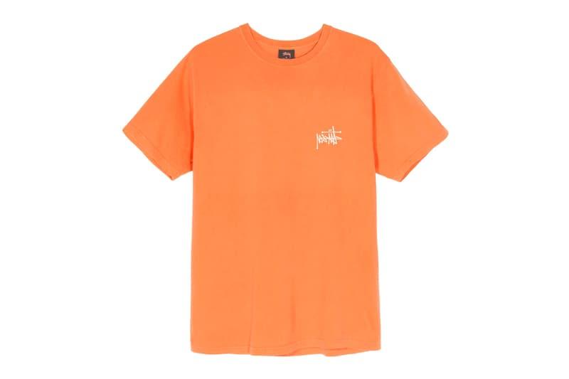 Stüssy Reflect Logo T-Shirt Release Info Buy Price Olive Moss Lavender Natural Neon Orange Black White