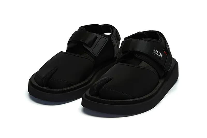 GOOPiMADE Suicoke Mythology Sandal Release spring summer 2020 collection collaborations slides sandals footwear tabi silhuoette bita-v