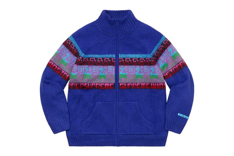 Supreme Fall/Winter 2020 Tops 90s sportswear workwear art Piet Mondrian smurfs