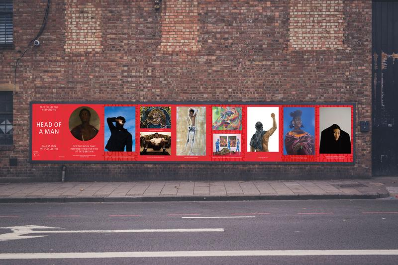 Tate Collective Billboards Project young creatives artists London Wassily Kandinsky Ibrahim El-Salahi Guerrilla Girls Sir John Everett Millais John Martin Sheba Chhachhi John Simpson Tate Modern collections