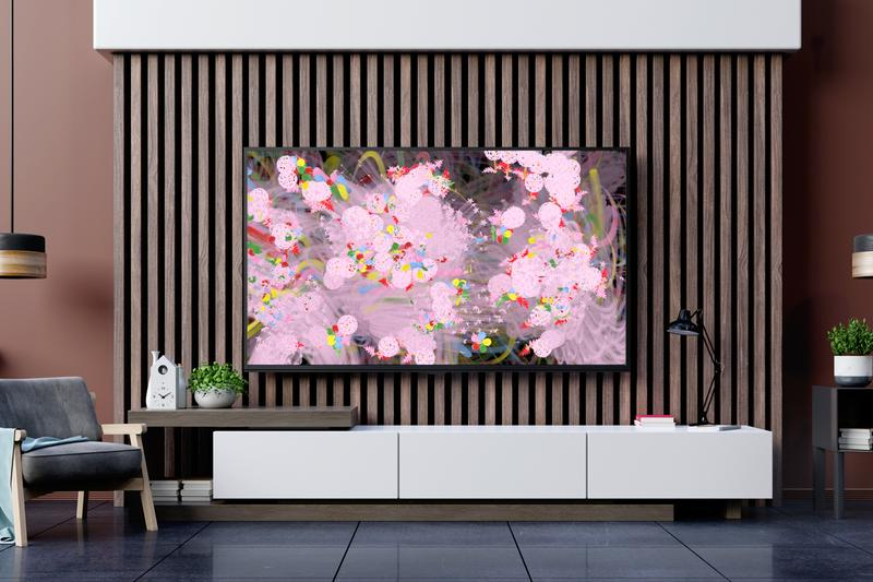 teamlab flowers bombing home project digital art artworks