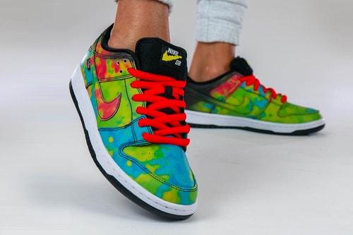 Civilist x Nike SB Dunk Low Changes Color With Heat