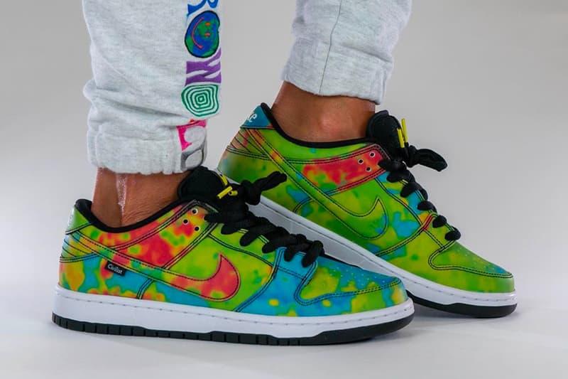 The Civilist Berlin Nike SB Dunk Low First Look Heat Change CZ5123-001 Release Info Date Buy Price Black Multicolor