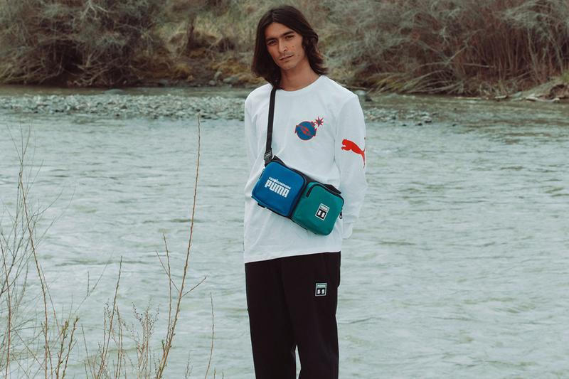 "The Hundreds x PUMA ""A Hopeful Future"" Collection Lookbook Release Information Menswear Womenswear Sportswear Sneakers First Look People Over Product Conscious Organic Cotton Materials"