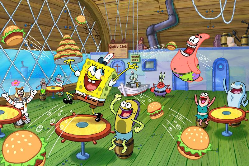 Nickelodeon The Patrick Star Show Spongebob Squarepants Spin-Off CBS All Access Kamp Koral The SpongeBob Movie Sponge on the Run