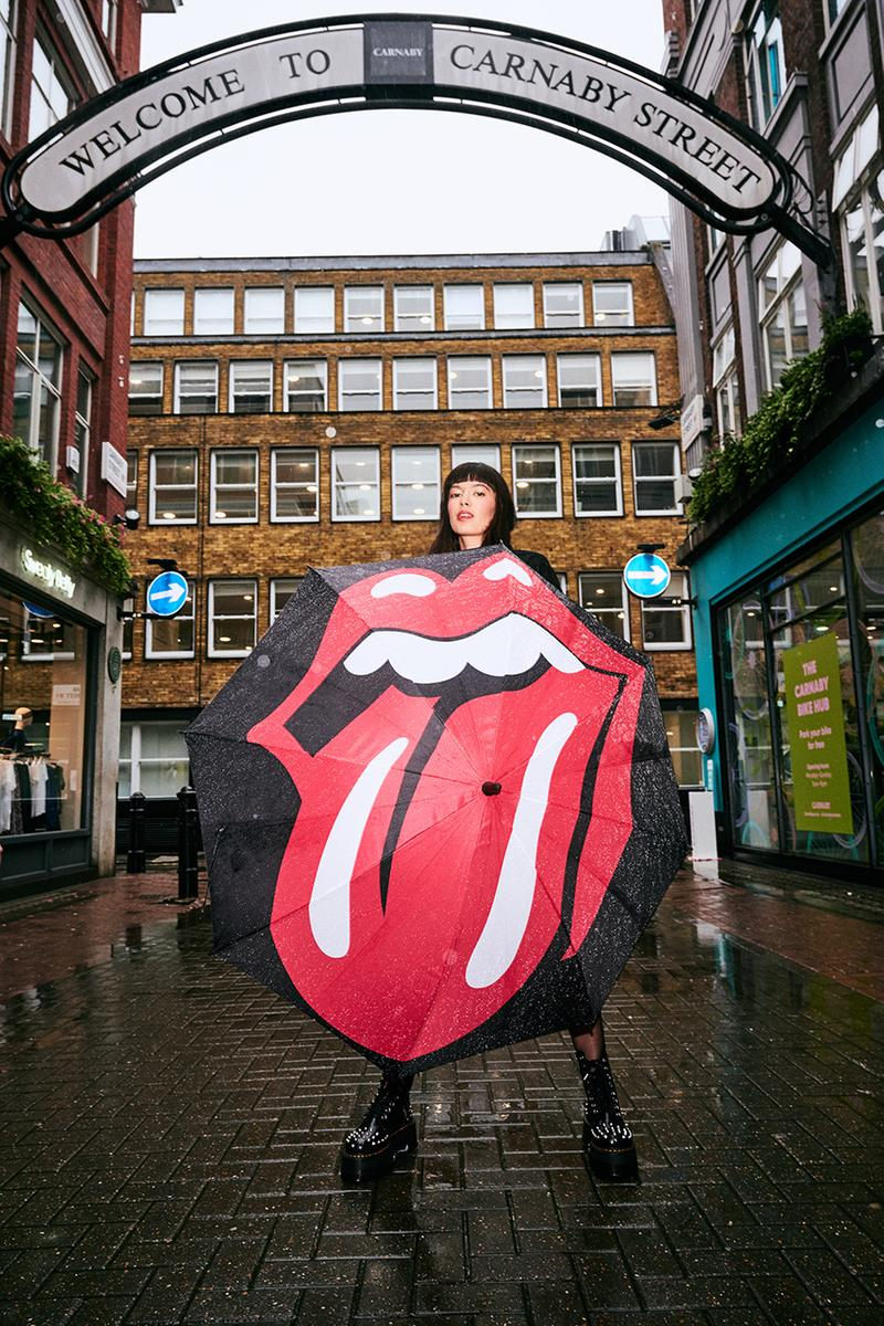 The Rolling Stones Carnaby Street London Store Announcement Music Rock N Roll Legends British Band Merchandise Tongue Logo John Pasche Universal Music Group